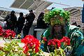 Flores, årboles, policías, en un descanso de la.jpeg
