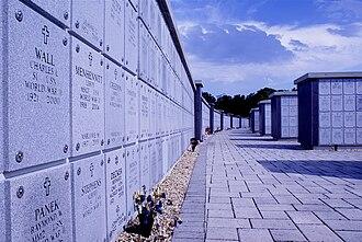 Florida National Cemetery - Columbarium at Florida National Cemetery.