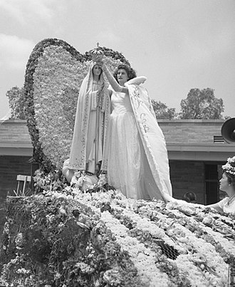 Artesia, California - Traditional Portuguese festival at Artesia, 1948