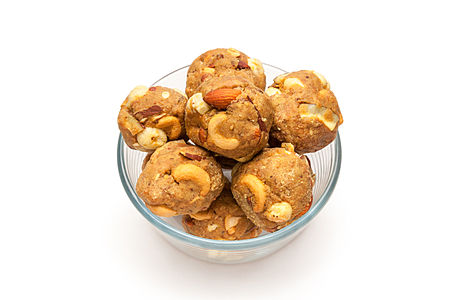 Flour Almond Sweet (Laddoo).jpg
