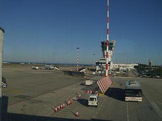 international airport serving Bari, Italy