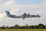 Flybe - G-JECX British European Bombardier DHC-8-402 Q400 (21979309299).jpg