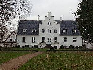 Flynderupgård - Flynderupgård in winter