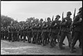"""Fo30141711140056 """"Reservebataljon Holmestrand paraderer for Quisling på Slottsplassen"""" 1942-06-14 (NTBs krigsarkiv, Riksarkivet).jpg"""