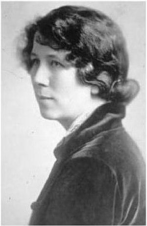 Fola La Follette - Portrait of Fola La Follette, 1918-20