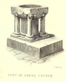 Font in Shere Church - 'Page Notes on the churches in the counties of Kent, Sussex, and Surrey djvu 408 - Wikisource'.png