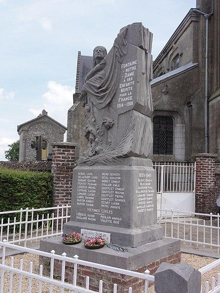 Fontaine-Notre-Dame (Aisne) monument aux morts