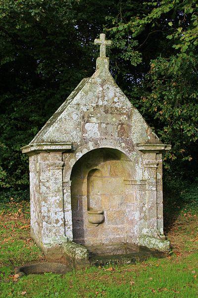 Fontaine Saint-Clair (Réguiny): vue générale