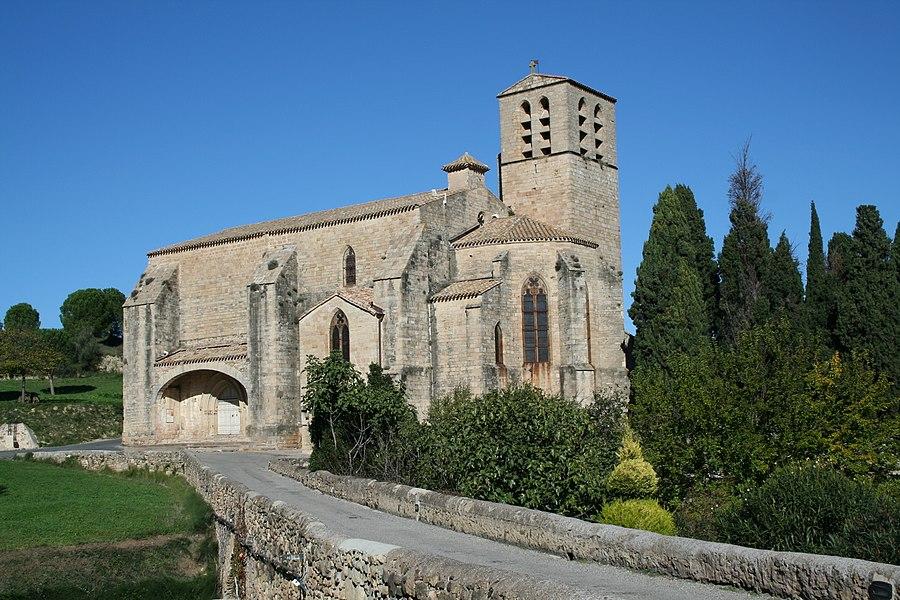Église Saint-Hippolyte de Fontès (Hérault).