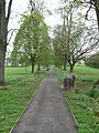 Footpath through parks in Monmouth - geograph.org.uk - 779463.jpg