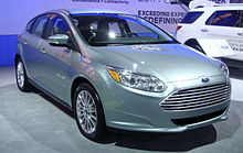 2017 Focus Electric S Frontal View