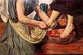 Ford madox brown, gesù lava i piedi a pietro, 1852-56, 04.jpg