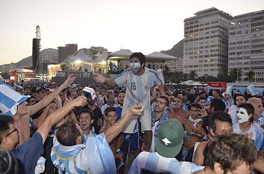 Foreign supporters celebrate the Fifa Fan Fest in RJ 01.jpg
