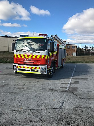 New South Wales Rural Fire Service - RFS Category 10 Urban Pumper