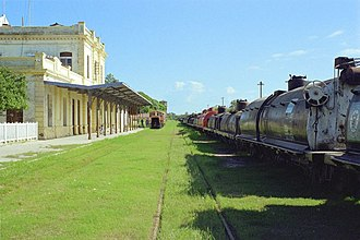 Formosa Province - Freight rail station in the city of Formosa.