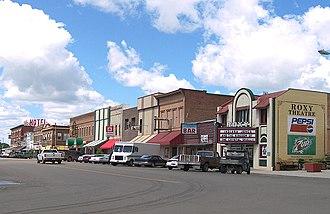 Forsyth, Montana - Downtown Forsyth