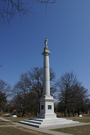 Battle of Red Bank - Monument at Fort Mercer