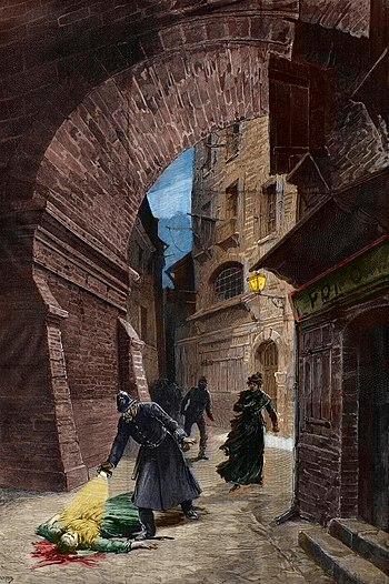 Méaulle. Whitechapel murder