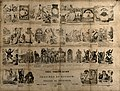 Forty five different scenes telling the tale of a man with t Wellcome V0012089.jpg