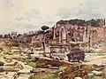 Forum Romanum from Arch of Septimius Severus by Alberto Pisa (1905).jpg