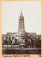 Fotografi av Toulouse, Église St. Sernin - Hallwylska museet - 104534.tif