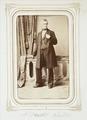Fotografiporträtt på bruksparon Albrecht Wallis, 1860-tal - Hallwylska museet - 107798.tif