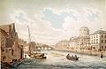 Four Courts and river Liffey, Dublin 1799.jpg