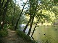 Fourteen Mile Creek mouth upstream.jpg