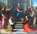 Fra bartolomeo, incarnazione di cristo, 1515, 03.JPG