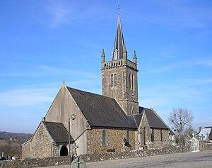 L'église Sainte-Cécile.