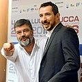 Francesco Pannofino e Marco Azzani - Lucca Comics & Games 2018 01.jpg