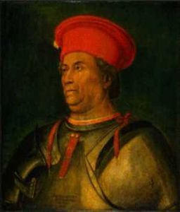 Francesco Sforza after Mantegna Washington.jpg