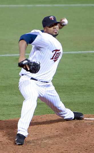 Francisco Liriano - Liriano pitching for the Twins in 2008.