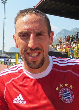 5dab4c9ff6cf Ribéry sous les couleurs du Bayern Munich en 2013.