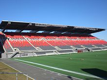 Frank Clair Stadium north stand, Ottawa.JPG