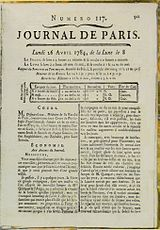 Franklin-Benjamin-Journal-de-Paris-1784