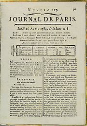 Franklin's 1784 letter about daylight had neither title nor byline.