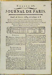 <i>Journal de Paris</i>