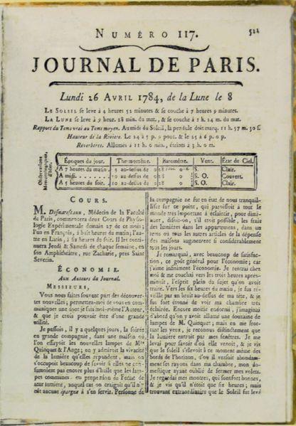 Dosya franklin benjamin journal de paris vikipedi - Le perche le journal ...