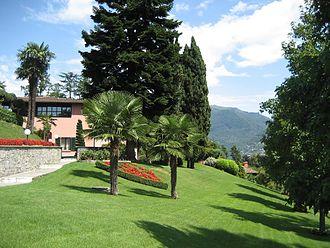 Sorengo - Image: Franklin College Switzerland Main Lawn 2007