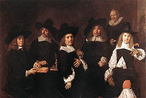 Regents of the Old Men's Almshouse - Portrait of The Regents of the Old Men's Almshouse Haarlem