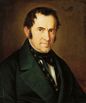 Portrait by Sebastian Stief (1846)