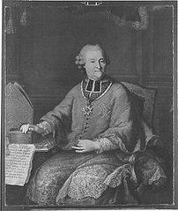 Bildnis des Reichsgrafen Joseph Ferdiand Guidobald von Spaur, Stiftsprobs von U.L. Frau und Präsident des kurfürstlichen Geistlichen Rates in München,
