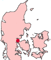 Fredericia Denmark location map.png