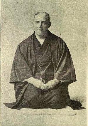 Seiza - Frederick Starr sitting in the seiza style