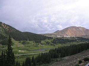 Fremont Pass (Colorado) - Fremont Pass and the Climax mine