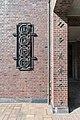 Friedhof Ohlsdorf (Hamburg-Ohlsdorf).Neues Krematorium.Bauschmuck.Kuöhl.Kreisornament und Florale Keramik.29622.ajb.jpg
