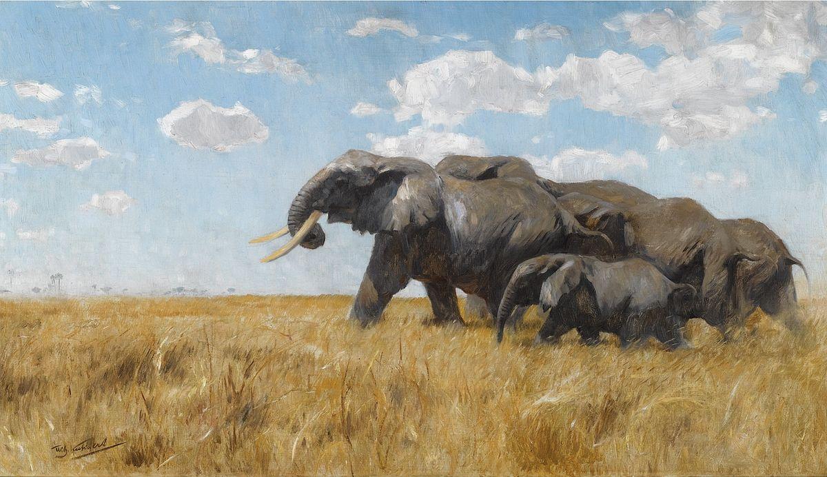 Famous Paintings Elephants