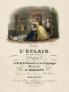 <i>Léclair</i> opéra comique