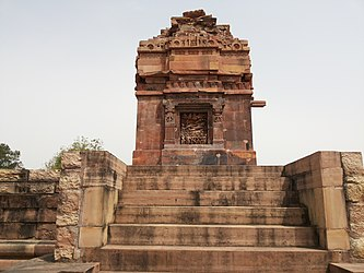 Front side of the Dashavatara Temple in Deogarh.jpg